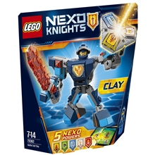 70362 LEGO Nexo Knights Clay i Stridsutrustning