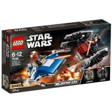 75196 LEGO Star Wars A-Wing vs. TIE Silencer