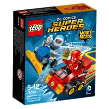 76063 LEGO The Flash mot Captain Cold