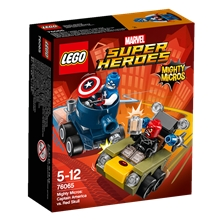 76065 LEGO Captain America mot Red Skull