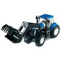 Bruder 3021 New Holland - Grävmaskin