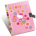 Hello Kitty Flower Dagbok m lås