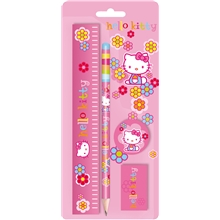 Hello Kitty Flower Skrivset