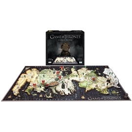4D Cityscape Pussel Game of Thrones