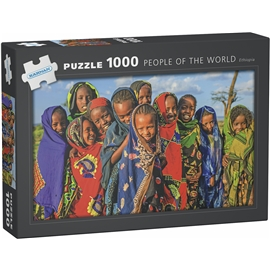 Pussel 1000 Bitar People of the World Ethiopia