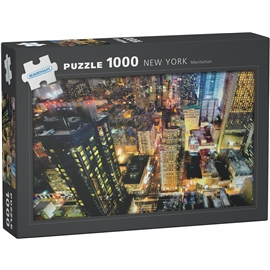 Pussel 1000 Bitar New York Manhattan