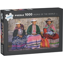 Pussel 1000 Bitar People of the World Peru
