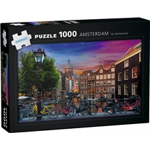 Pussel Amsterdam, The Netherlands 1000 bitar