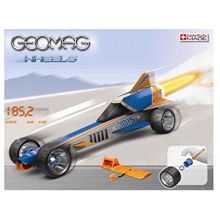 Geomag Wheels Drag Race Bil