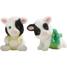 Sylvanian Families Friesian Cow Twins
