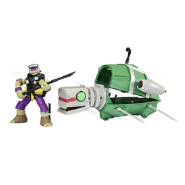 TMNT Turtle Sub Underwater Stealth Shell