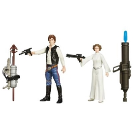 Star Wars E7 Han Solo Princess Leia