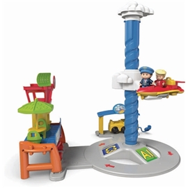 Little People Spinnin' Sounds Airport Fisher Price