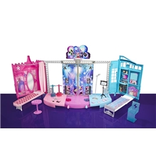 Barbie Transforming Stage Playset