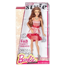Barbie Style Doll - Rosa