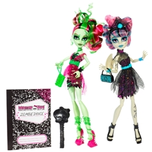 Monster High Zoombie Rochelle Goyle & Venus