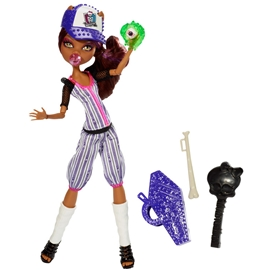 Monster High Ghoul Sports - Clawdeen Wolf