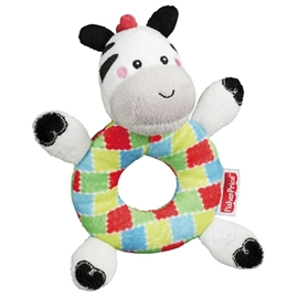 Fisher Price Plush Ring Zebra