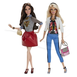 Barbie Stylin' Friends - Barbie & Raquelle