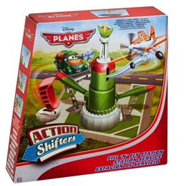 Planes Action Shifters Fill 'N' Fly Station