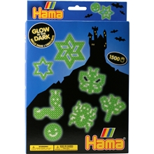 Hama Pärlset 3414 - Glow in the Dark