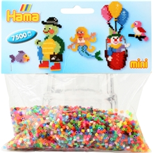 Hama Mini Pärlor 583 - 7500 Mix
