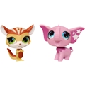 Littlest Pet Shop Talented Pets - Ekorre & Elefant