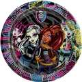 Monster High Papperstallrikar, 10 st