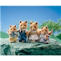 Sylvanian Families Honey Fox Family