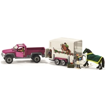 Schleich Pick Up och Häst Trailer