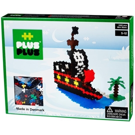 Plus Plus MINI Basic 1060 pcs Pirate Ship