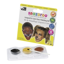 Snazaroo Face Painting Kit - Leopard & Lion