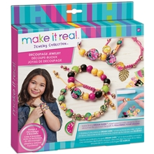 Make It Real Smycken Decoupage-a-Bead