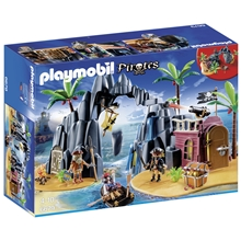 6679 Playmobil Skattö med Pirater