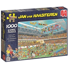 Pussel 1000 bitar - Football crazy