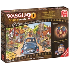 Wasgij Original  #1 -Retro Sunday Drivers