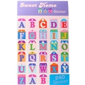 Sweet Home ABC- stickers