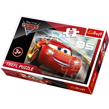 Pussel 30 bitar - Cars3 Lightening McQueen