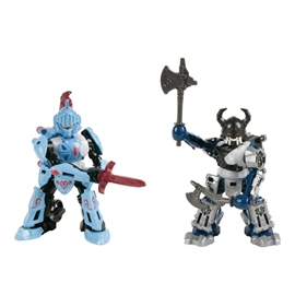 Battroborg Battle Arena Set Viking vs Knight