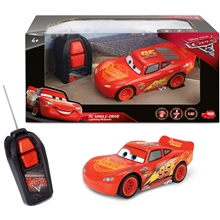 Disney Cars Radiostyrd Lightning McQueen Single