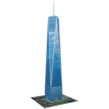 Pusselbyggnad 3D One World Trade Center