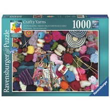 Pussel 1000 Bitar Crafty Yarns