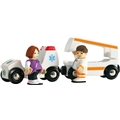 BRIO 33575 Ambulans & Vagn