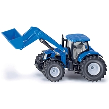Siku Traktor New Holland Frontlastare 1:50