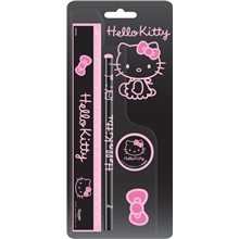 Hello Kitty Glitter Bow Skrivset