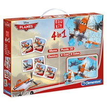 Planes Pussel + Spel 4 i 1