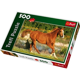 Pussel 500 Bitar Beauty of gallop