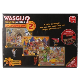 Wasgij Pussel Collectors Box 2 3x1000