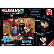 Wasgij Christmas Pussel 1 Scrooges Surprise