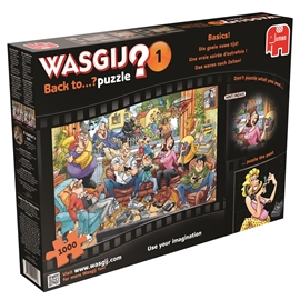 Wasgij Pussel #1 Back to Technology